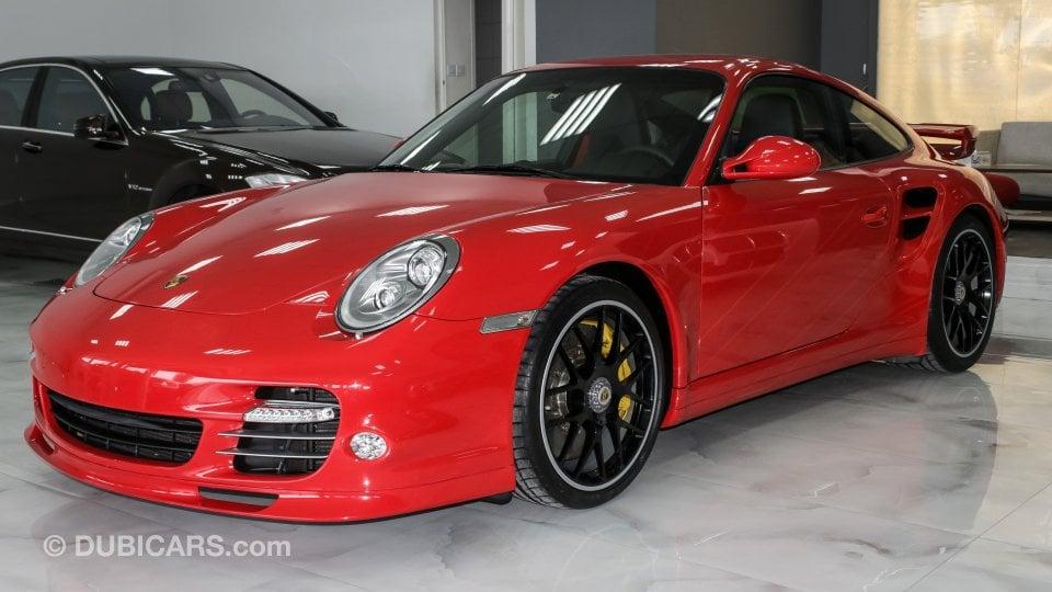 porsche 911 turbo s for sale aed 380 000 red 2012. Black Bedroom Furniture Sets. Home Design Ideas