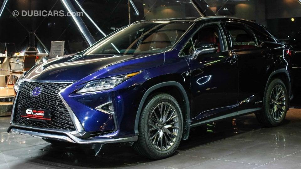 Lexus Rx F Sport >> Lexus RX 450 Hybrid F sport for sale: AED 215,000. Blue, 2016