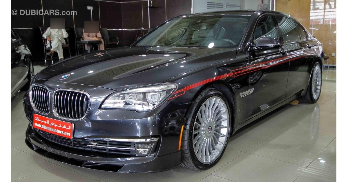 bmw b7 alpina for sale  aed 245 000  grey  silver  2015