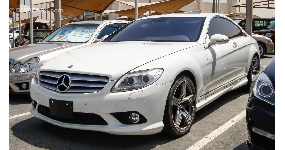 Mercedes benz cl 500 for sale aed 80 000 white 2007 for Mercedes benz cl600 for sale