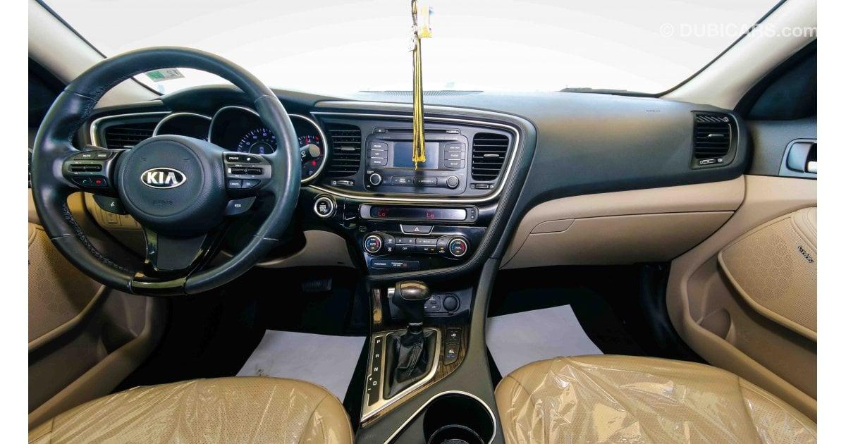 2014 Kia Optima Ex >> Kia Optima EX GDI for sale: AED 35,000. White, 2014