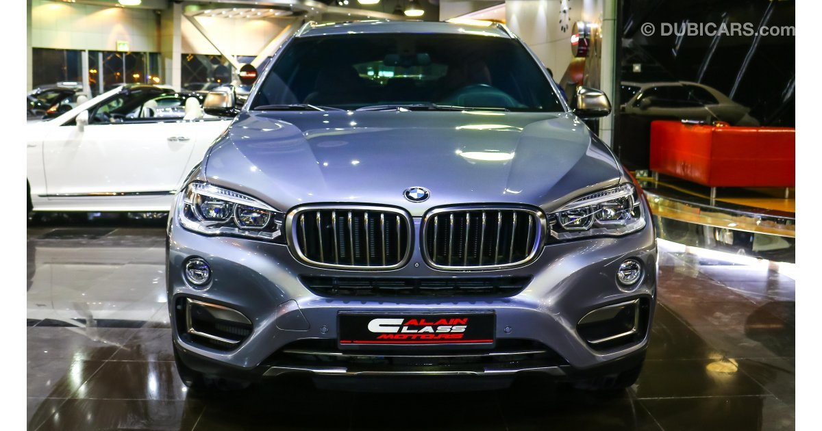 Bmw X6 5 0 I For Sale Grey Silver 2015