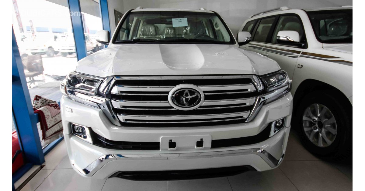 Toyota Land Cruiser White Edition For Sale Aed 247 000