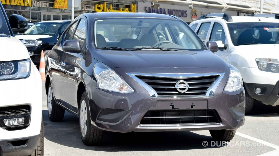 Nissan Sunny 2019 with front Chrome for sale. Grey/Silver ...
