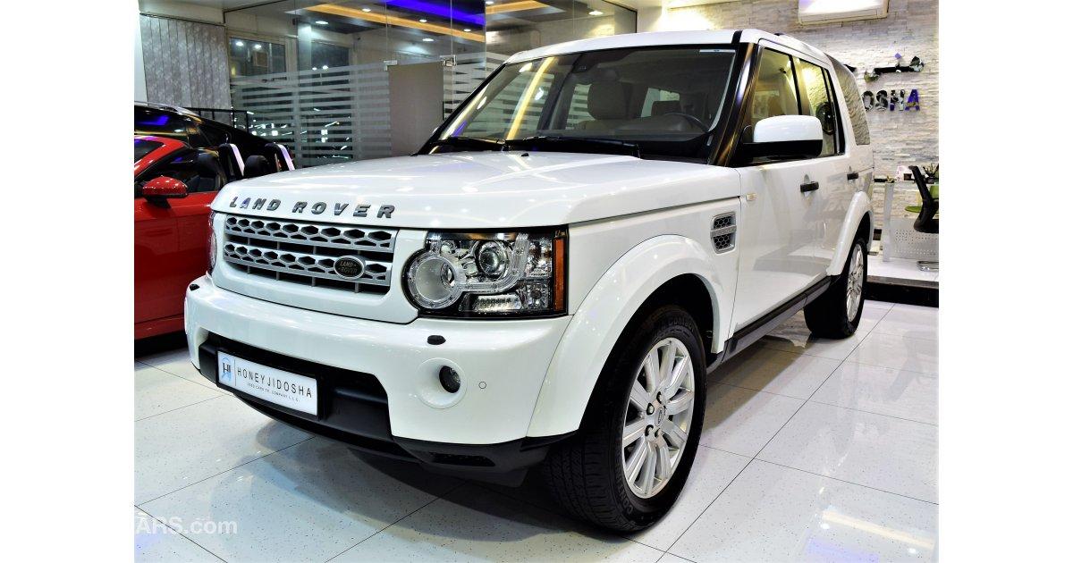 land rover lr4 hse v8 for sale aed 70 000 white 2012. Black Bedroom Furniture Sets. Home Design Ideas