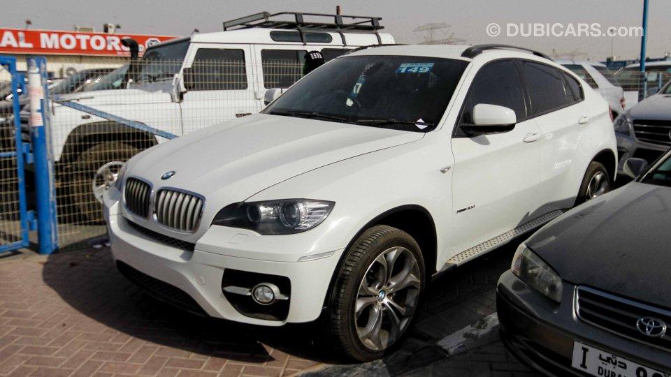 Bmw X6 4 0 Diesel Twin Turbo White With White Interior