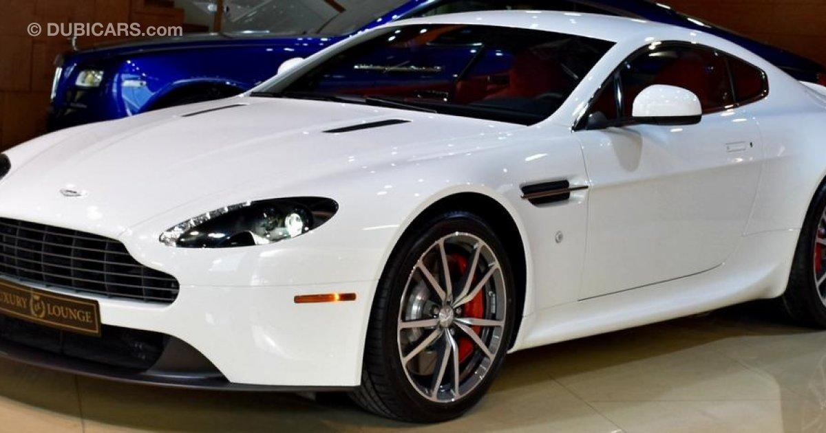 Aston Martin V8 Vantage For Sale: AED 385,000. White, 2015