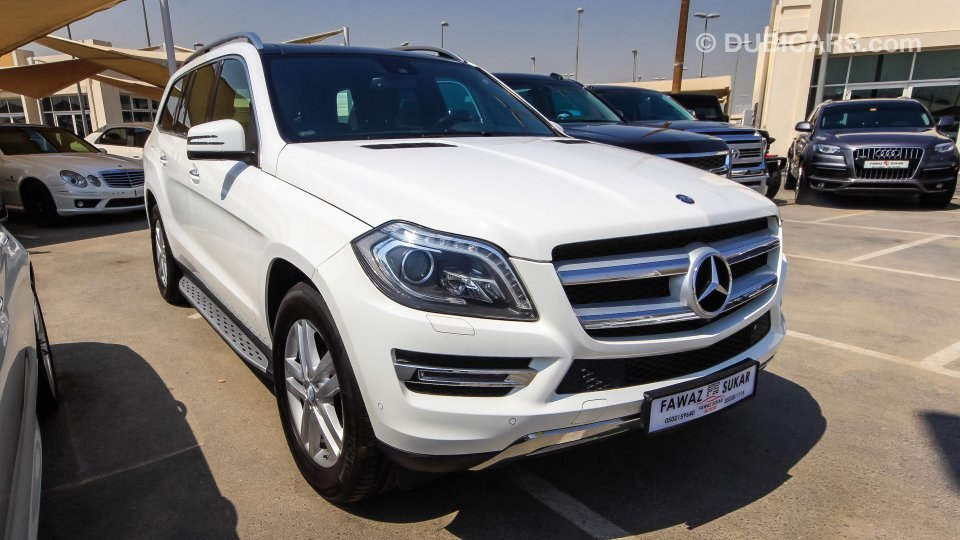 mercedes benz gl 500 4 matic 0 down payment for sale aed 115 000 white 2014. Black Bedroom Furniture Sets. Home Design Ideas