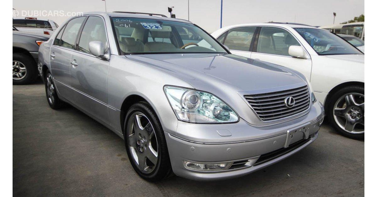 lexus ls 430 for sale aed 48 000 grey silver 2006. Black Bedroom Furniture Sets. Home Design Ideas
