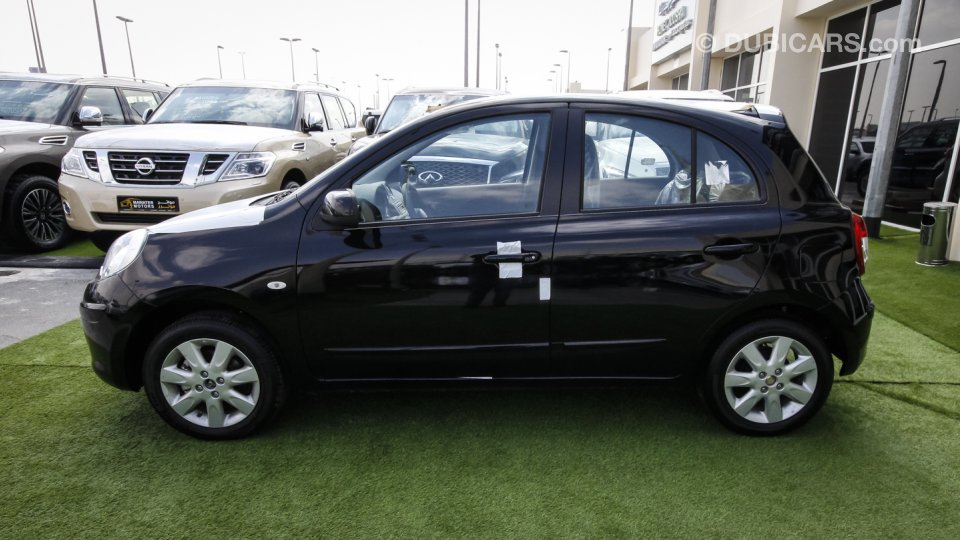 Nissan Micra For Sale Aed 35 900 Black 2016