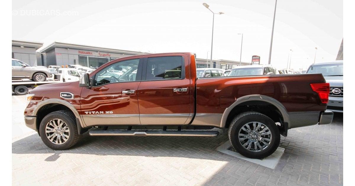 Nissan Titan Xd Platinum Reserve 4x4 For Sale Aed 227 000