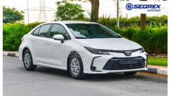 Toyota Corolla 1.6L & 2.0L PETROL A/T AVAILABLE IN COLORS  2020 MODEL FOR EXPORT