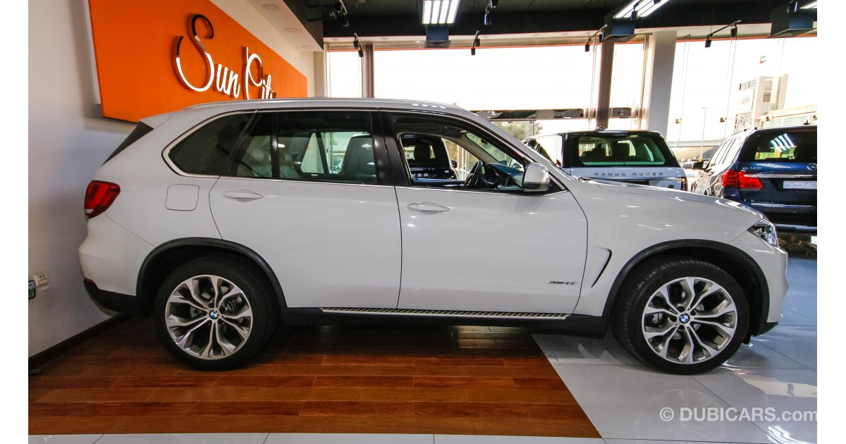 BMW X5 Xdrive 35i for sale AED 185 000 White 2014