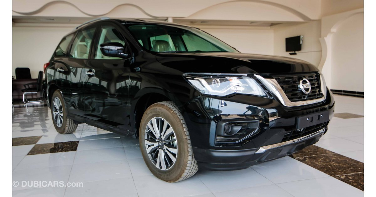 nissan pathfinder 4wd for sale aed 107000 black 2018