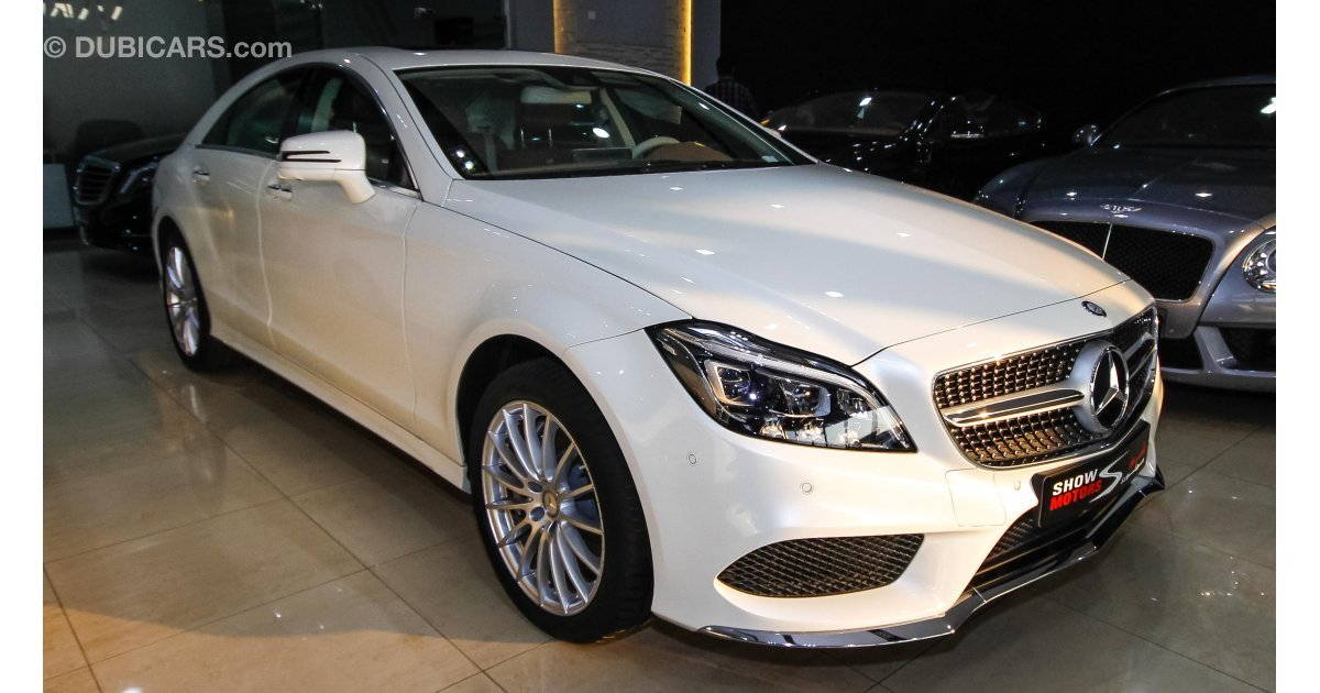 mercedes benz cls 500 for sale aed 339 000 white 2016. Black Bedroom Furniture Sets. Home Design Ideas