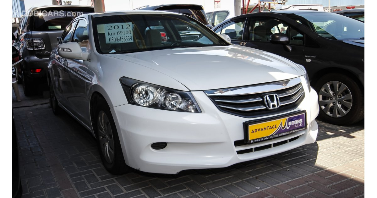 Honda accord i vtec for sale aed 46 000 white 2012 for Honda accord motors for sale