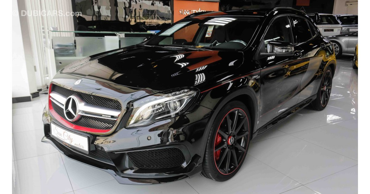 Mercedes benz gla 45 amg 4 matic for sale aed 179 000 for Sun motors mercedes benz