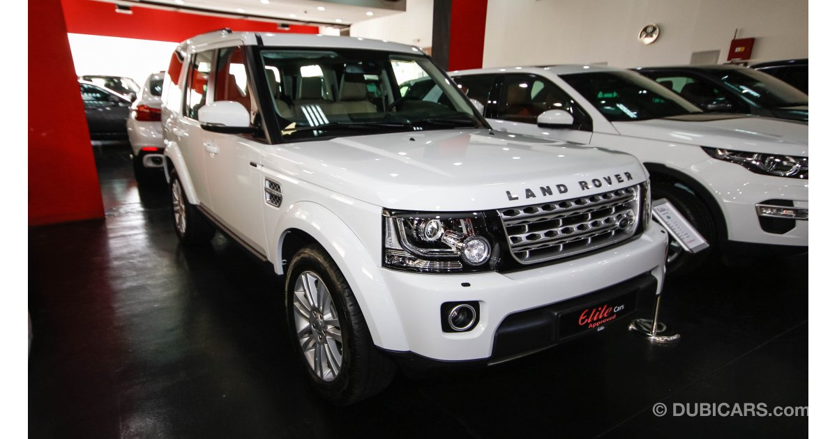 land rover lr4 hse scv6 for sale aed 209 000 white 2016. Black Bedroom Furniture Sets. Home Design Ideas