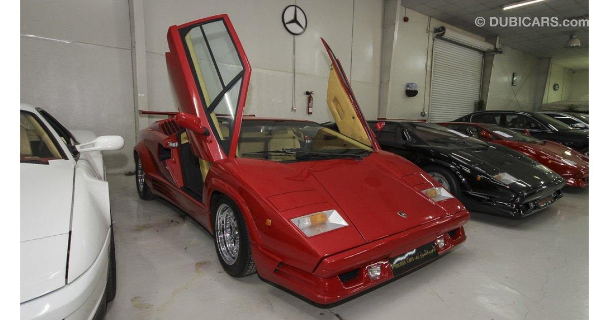 Lamborghini Countach 25th Anniversary For Sale Red 1989