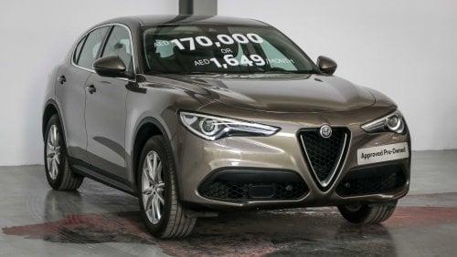 13 Used Alfa Romeo Stelvio For Sale In Dubai Uae Dubicars Com