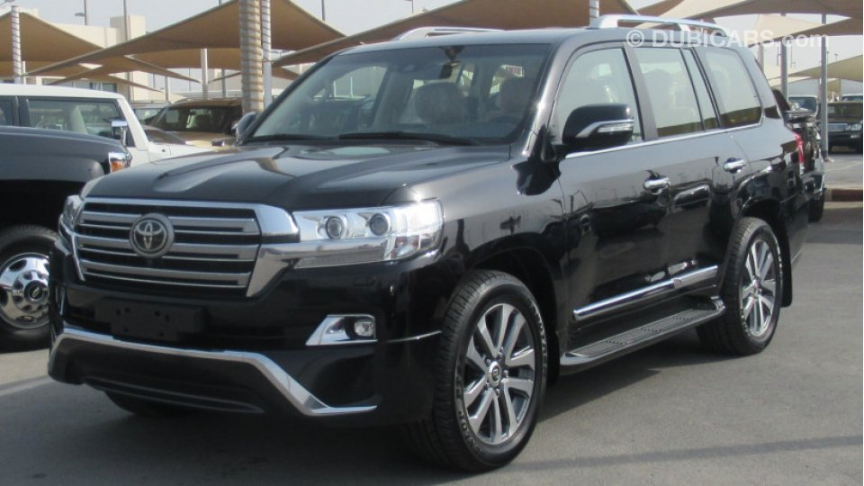 Used Suv For Sale >> Toyota Land Cruiser VXS V8 5.7 for sale: AED 225,000 ...