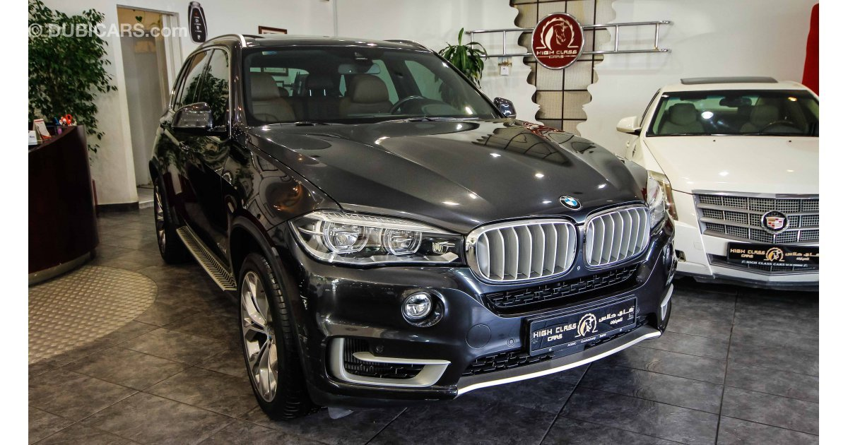 bmw x5 50i xdrive for sale aed 175 000 grey silver 2015. Black Bedroom Furniture Sets. Home Design Ideas