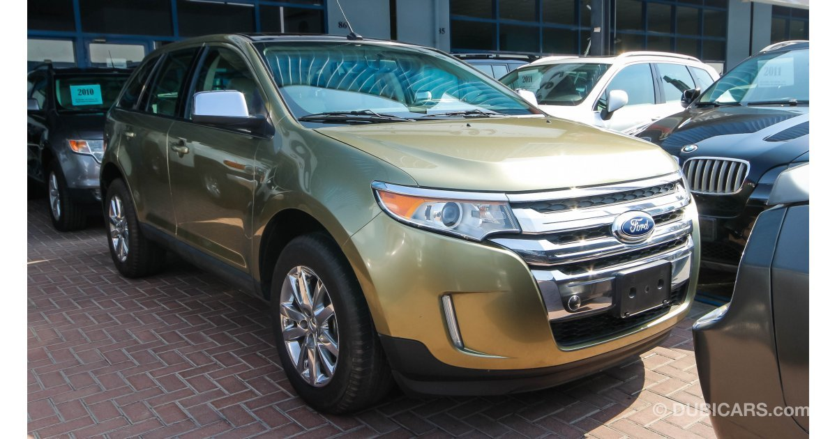 ford edge limited awd for sale aed 65 000 gold 2013. Black Bedroom Furniture Sets. Home Design Ideas