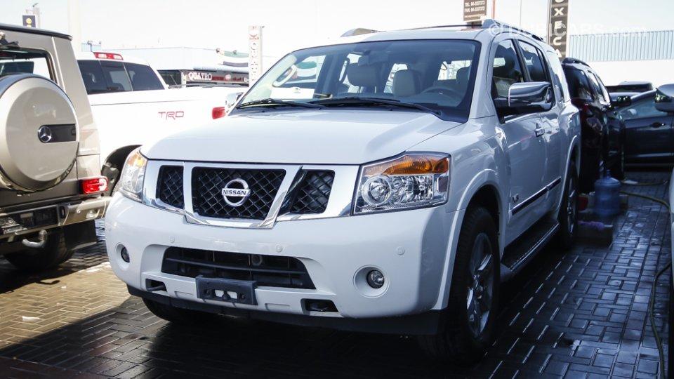 Nissan Armada LE V8 For Sale: AED 88,000. White, 2012
