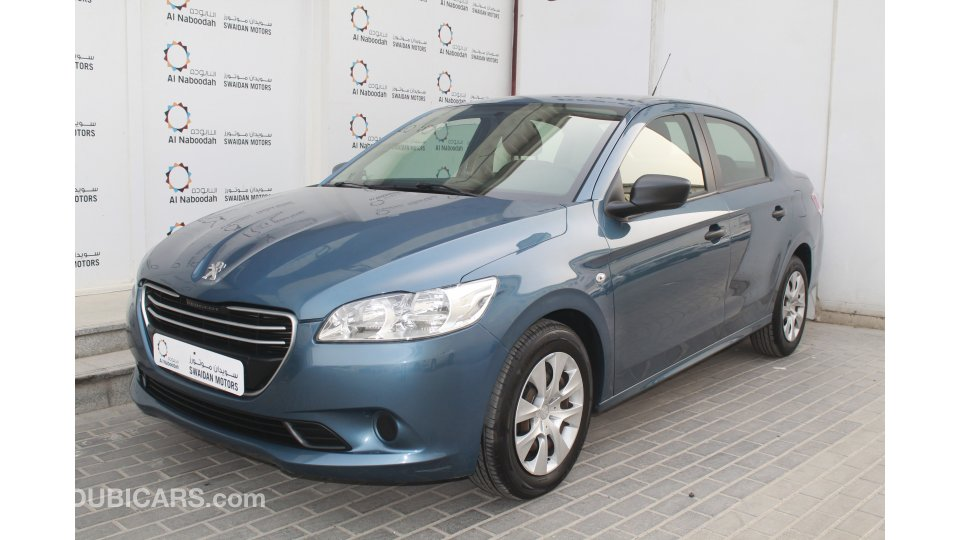Peugeot 301 1 6l 2015 Model With Warranty For Sale Aed 17 900 Blue