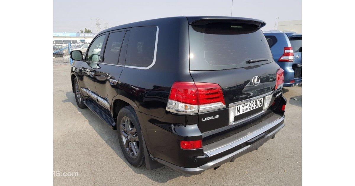 Lexus lx 570 uplift 2015 for sale aed 105 000 black 2008 for Lexus motors for sale