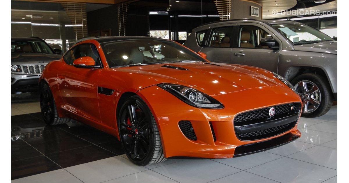 jaguar f type sports for sale orange 2015. Black Bedroom Furniture Sets. Home Design Ideas
