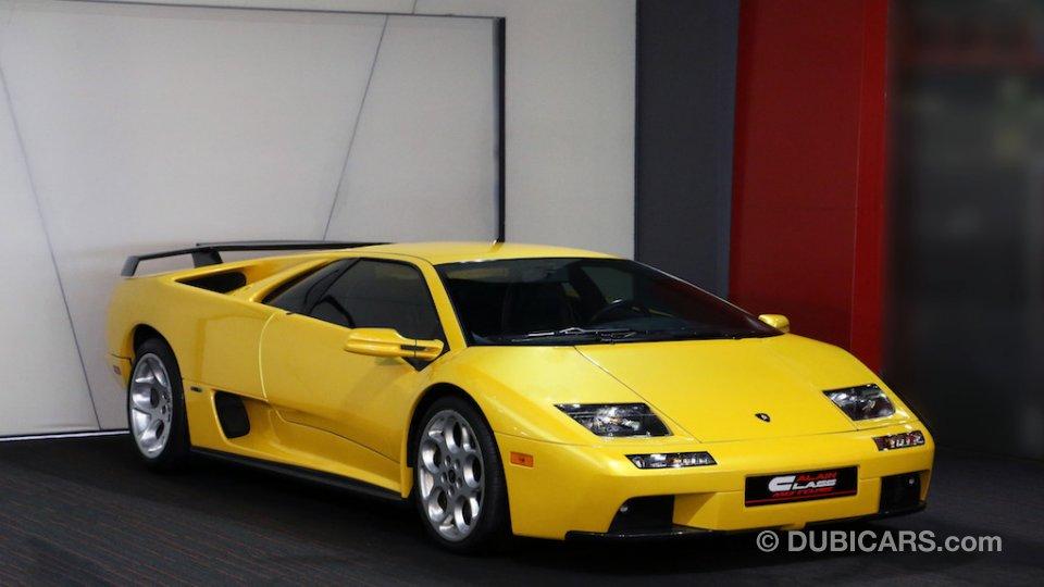 Lamborghini Diablo Vt 6 0l For Sale Aed 1 450 000 Yellow