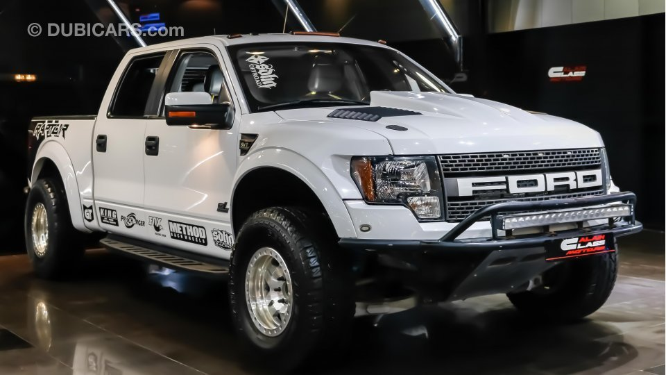 Used Jeep Wrangler Prices >> Ford Raptor SVT 6.2 supercharged for sale: AED 115,000. White, 2011