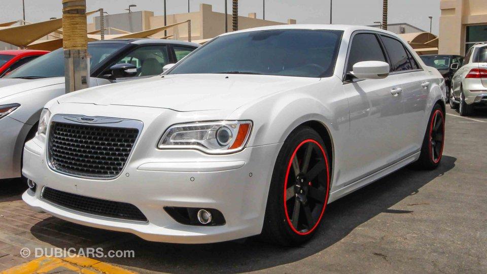 Chrysler 300c srt8 for sale aed 87 000 white 2013 - Chrysler 300 red interior for sale ...