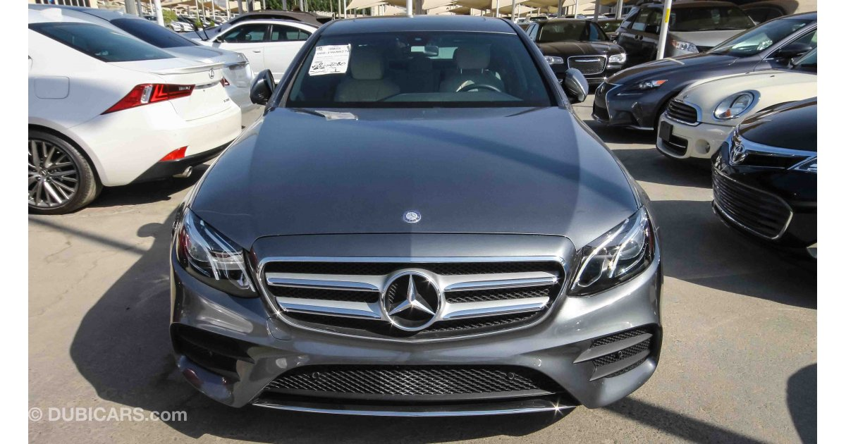 Mercedes-Benz E 300 for sale: AED 175,000. Grey/Silver, 2017