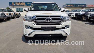 Toyota Land Cruiser ديزل GXR 4 5L V8 Diesel for sale  White, 2018