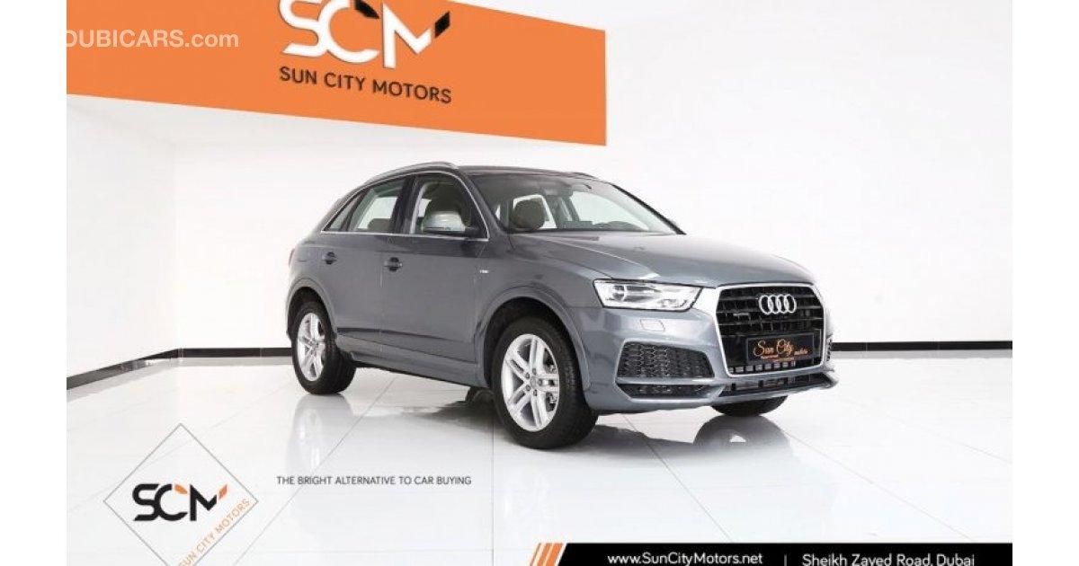 Audi Q3 35 Tfsi Quattro For Sale Aed 133 000 Grey Silver