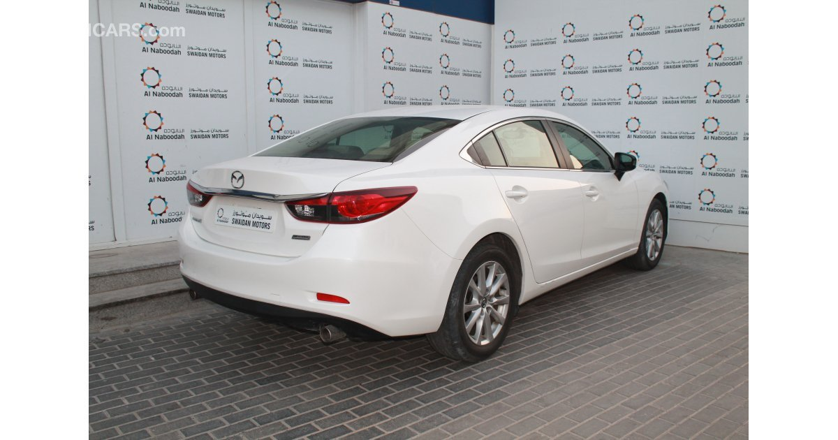 Mazda 6 2 0l 2016 Model Under Warranty For Sale Aed