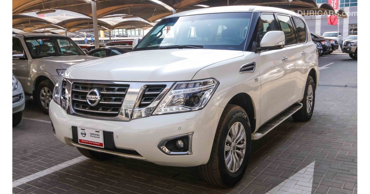 Nissan Patrol SE for sale: AED 152,900. White, 2015