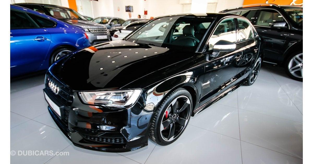 Audi S3 Quattro For Sale Aed 155 000 Black 2016