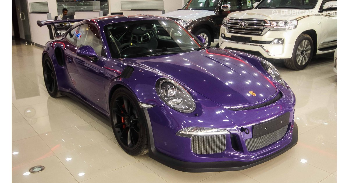 Porsche 911 Gt3 Rs For Sale Purple 2016