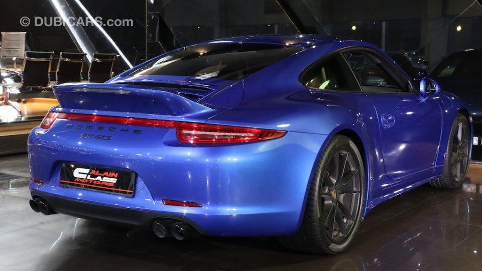 Porsche 911 Carrera 4 Gts For Sale Aed 359 000 Blue 2016