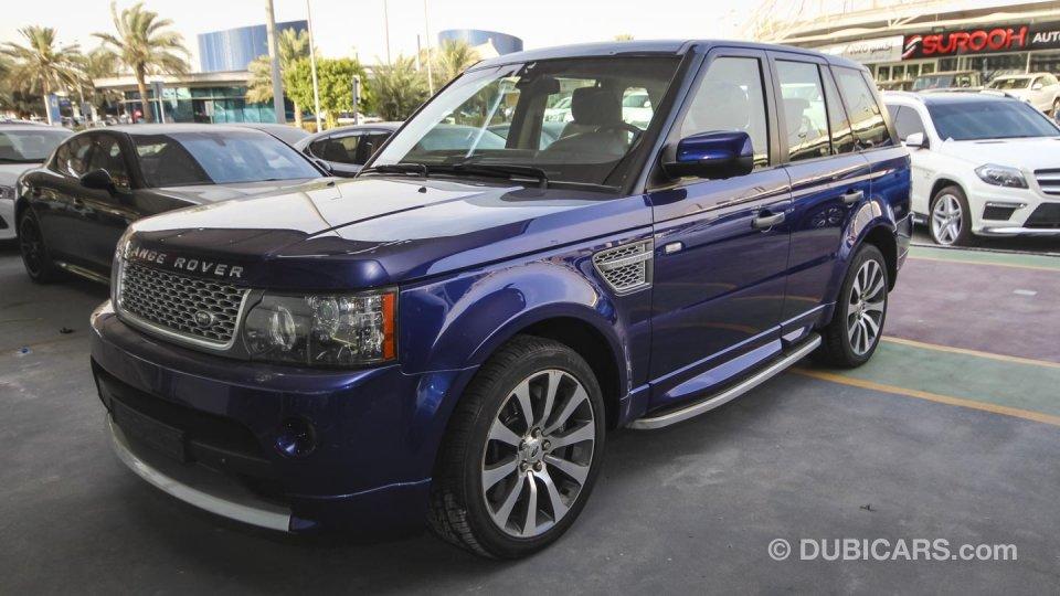 land rover range rover sport autobiography for sale aed 78 000 blue 2010. Black Bedroom Furniture Sets. Home Design Ideas