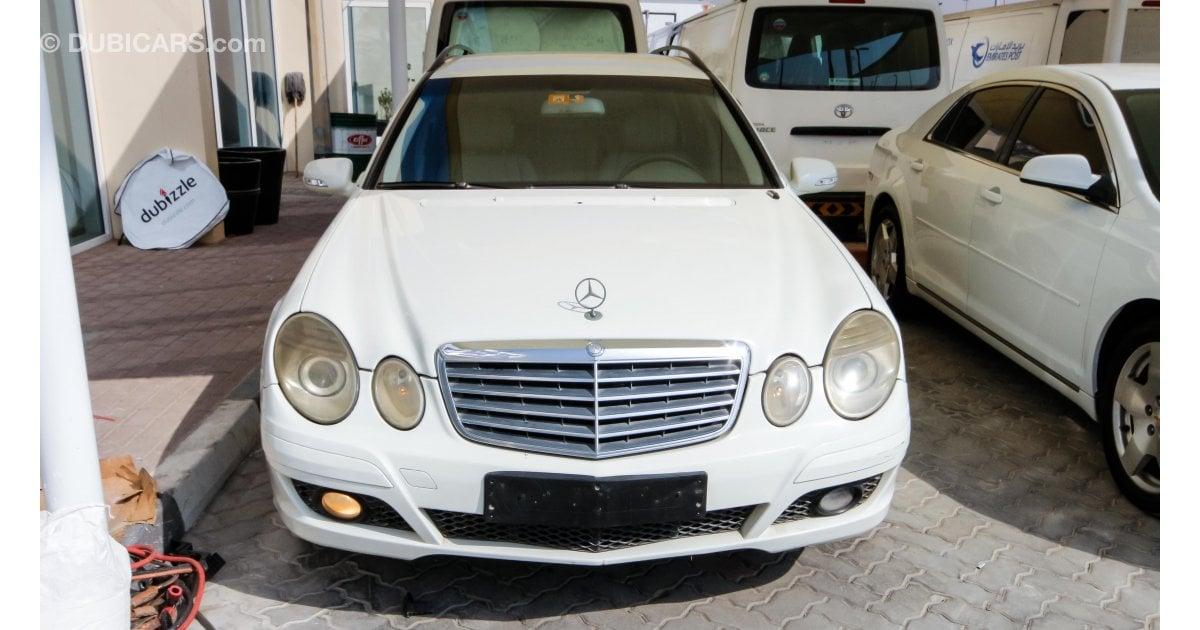 Mercedes benz e 200 kompressor for sale aed 15 000 white for Mercedes benz 15000