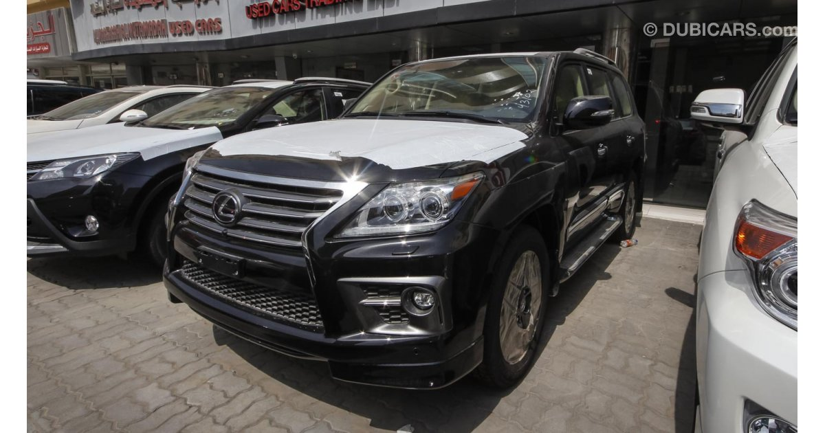 lexus lx 570 s for sale aed 295 000 black 2015. Black Bedroom Furniture Sets. Home Design Ideas