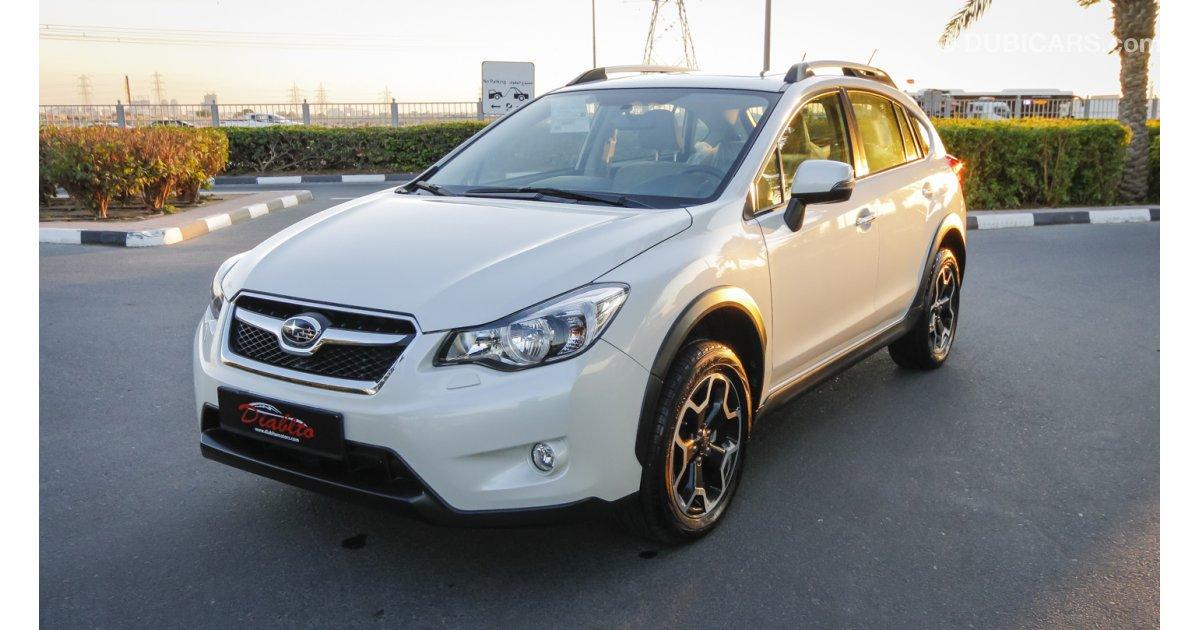 Subaru Xv For Sale Aed 60 000 White 2012