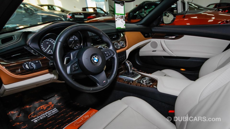 Bmw Z4 2 0 L Twin Turbo For Sale Aed 138 000 Black 2014