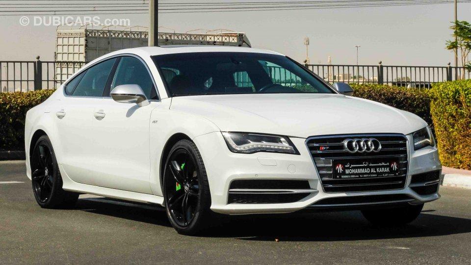 Audi S7 V8t For Sale White 2015