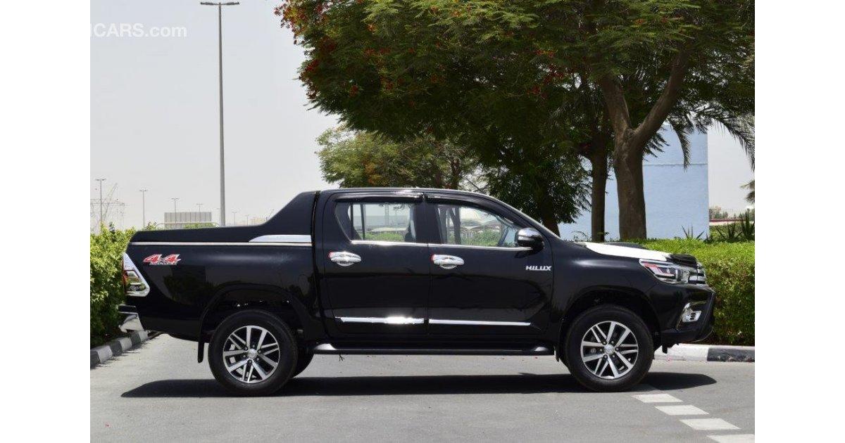 Toyota Diesel Truck >> Toyota Hilux Revo 3.0L with CARRYBOY UTILITY BOX / SPORT ROLL BAR for sale. Black, 2017