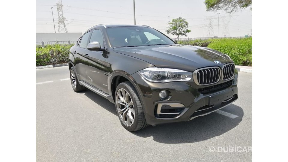 Bmw X6 Xdrive V8 Under Warranty 2015 Gcc For Sale Aed